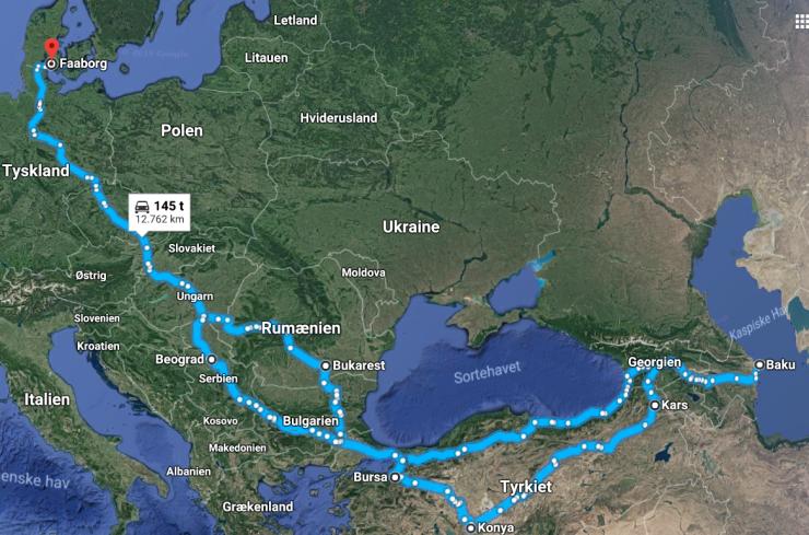 rute kaukasus